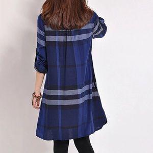 Dresses - Blue Dress.
